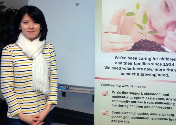 Volunteer spotlight: Raising self-esteem, one haircut